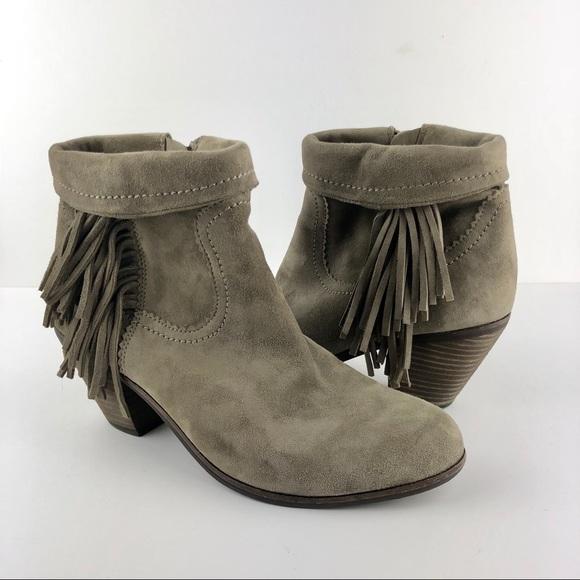 a44697bd8 Sam Edelman Shoes - Sam Edelman Louie Fringe Ankle Boot